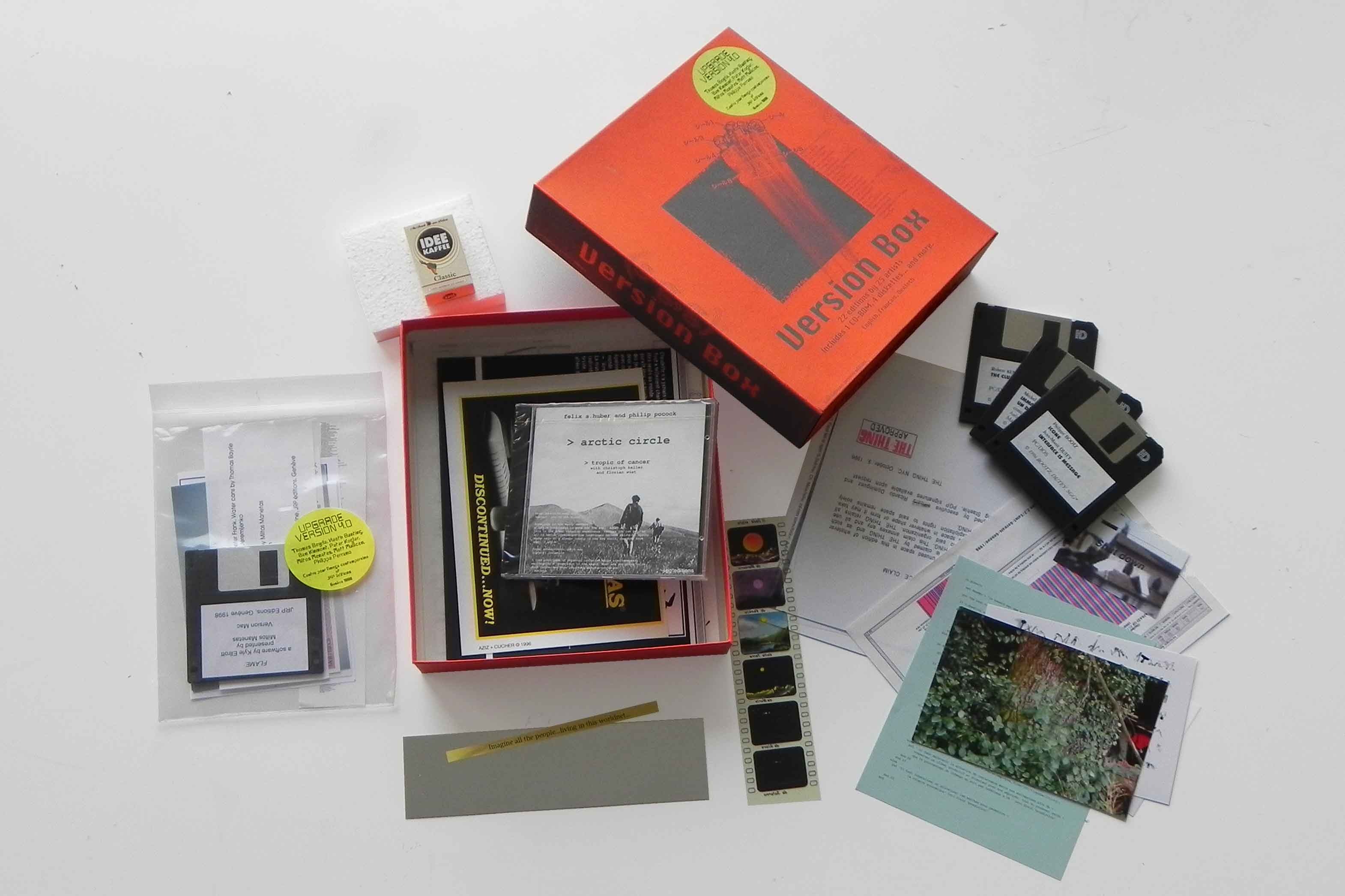Version Box, containing 30 editions by artists, CIC, Geneva, 1997 upgraded in 1998