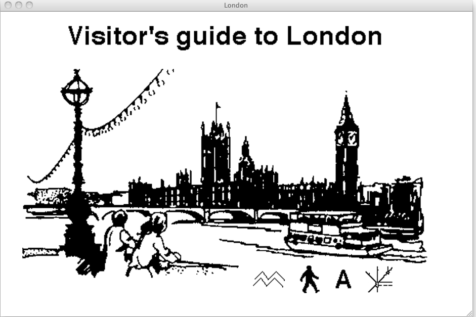 London Guide by Heath Bunting
