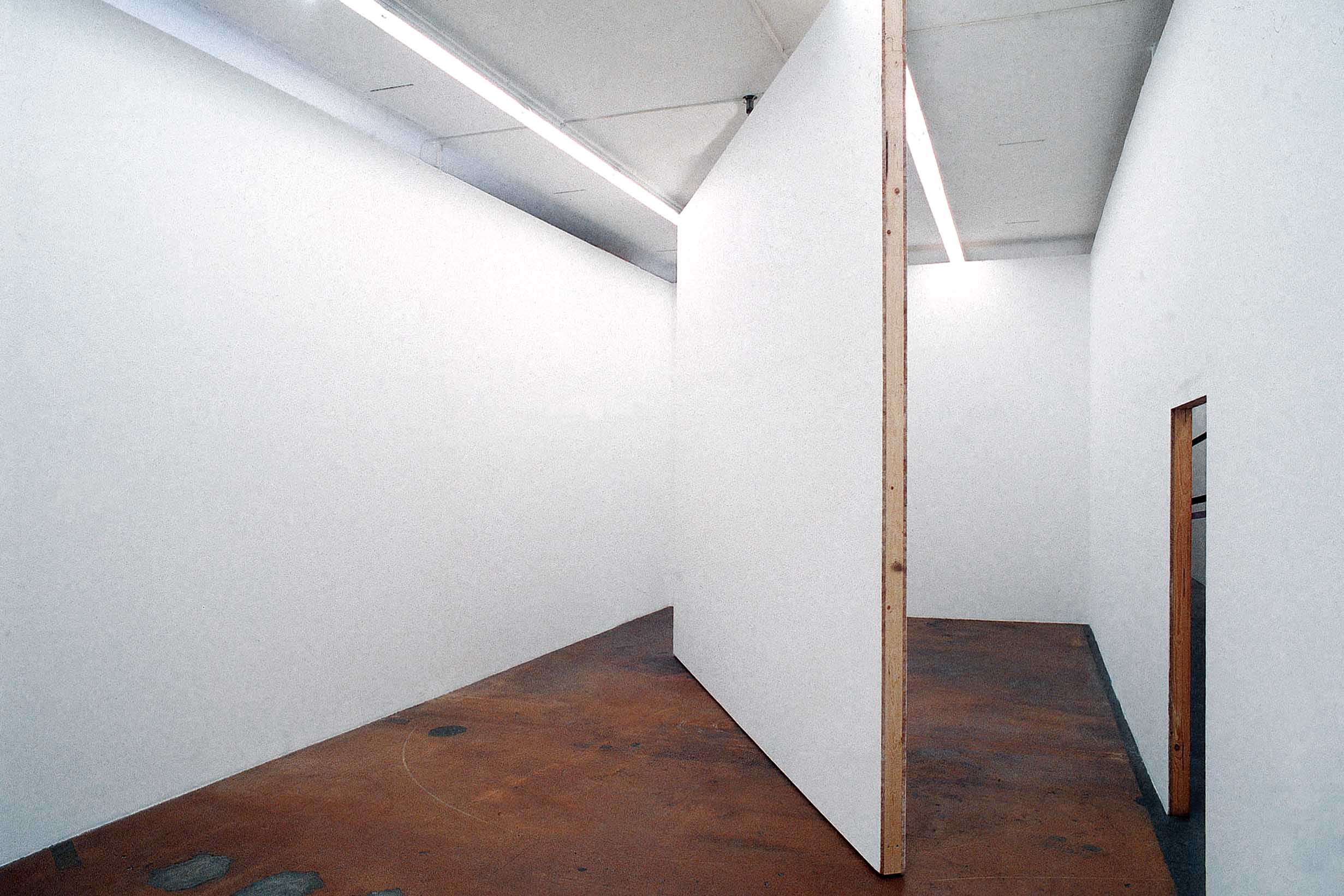 Untitled (A Room) by Heimo Zobernig