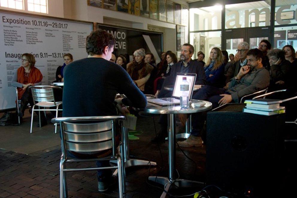 Lecture by Aurélien Gamboni